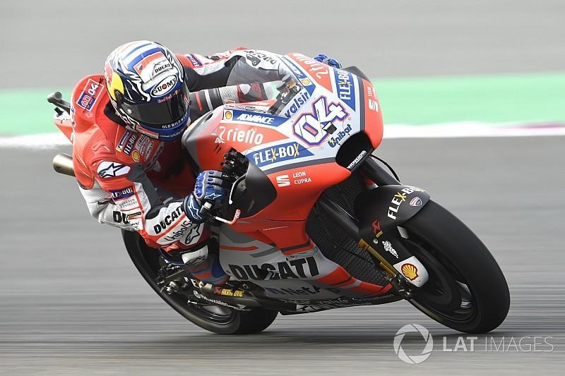 Fp Motogp Qatar Dovizioso Tercepat Lagi Rossi Kesembilan