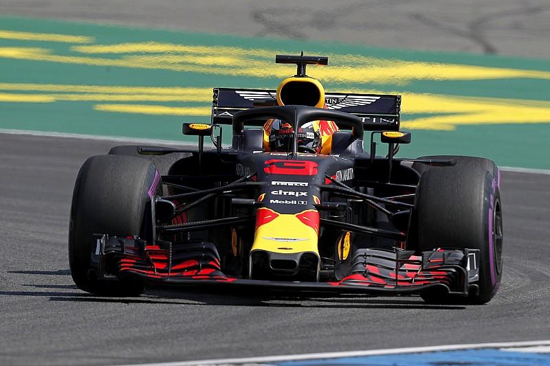 德国大奖赛FP1:里卡多力压汉密尔顿居首