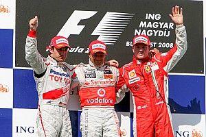 GALERIA: Relembre os últimos vencedores do GP da Hungria