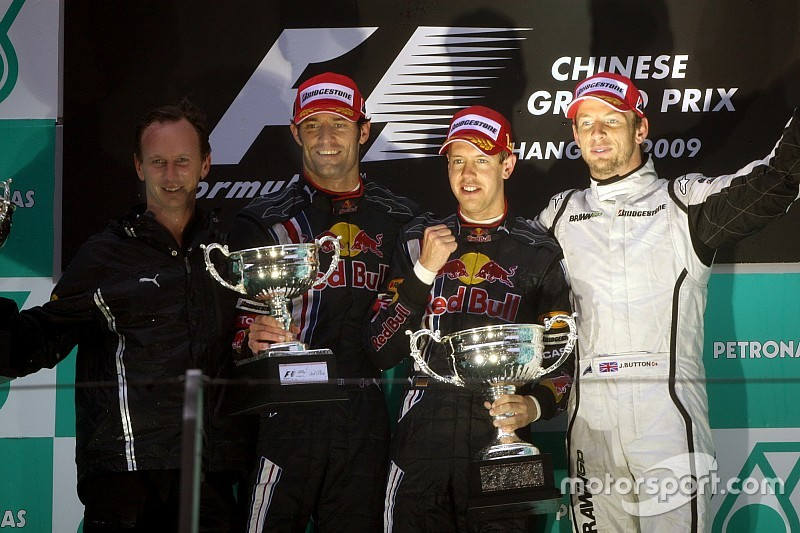 GALERIA: Relembre os 10 últimos vencedores do GP da China de F1