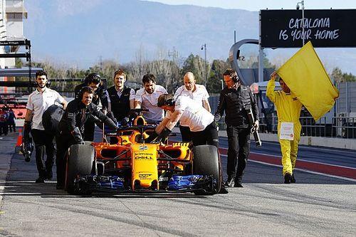 Barcelone, J5 - Encore du temps perdu pour McLaren à la mi-journée