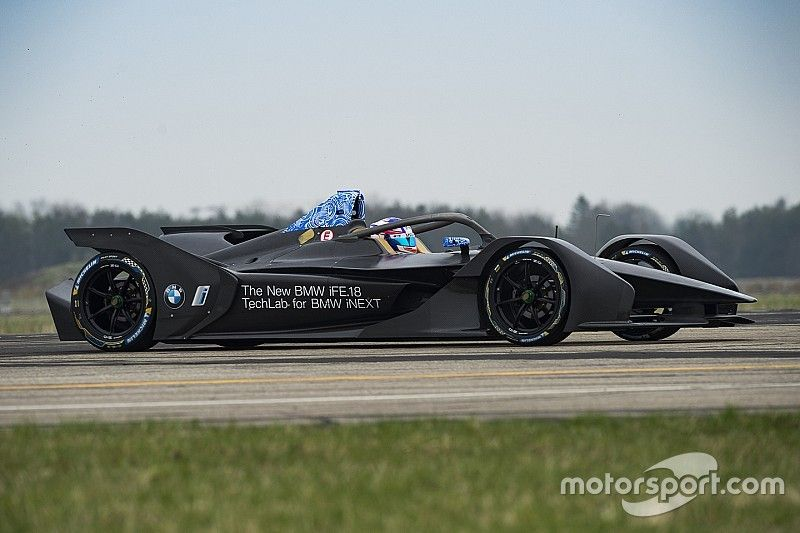 VÍDEO: As primeiras voltas do BMW da Fórmula E