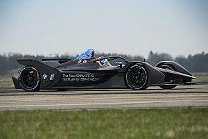 BMW провела первые тесты машины Формулы Е нового поколения