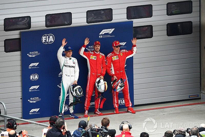 La parrilla de salida del GP de China