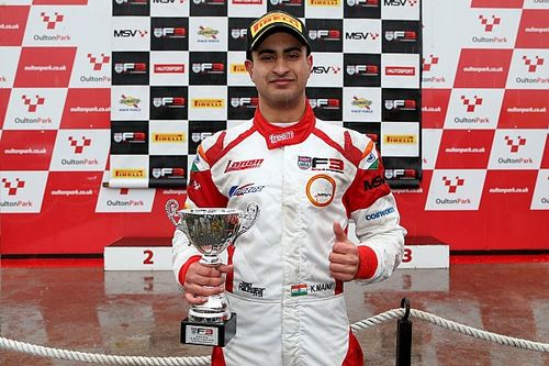 "Maini: British F3 title ""one and only goal"" after podium in opener"