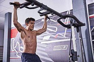 Mengintip latihan Marquez demi persiapan MotoGP