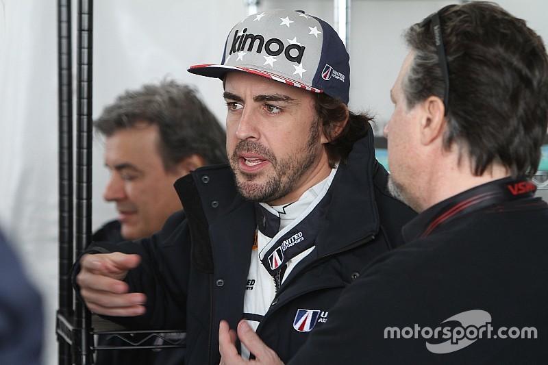 """Alonso: """"Na Daytona veel beter voorbereid op Le Mans"""""""
