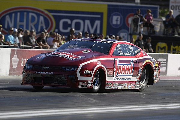 NHRA B. Force, Beckman, Anderson and Ellis current No. 1 qualifiers at season ending NHRA finals