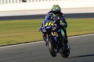 """Ereignisreicher Test für Rossi: """"Bin mit altem Bike schneller"""""""