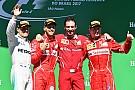 Brezilya GP: Vettel kazandı, Hamilton pit yolundan podyumu zorladı!