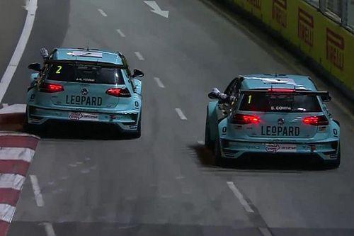 Vernay-Comini, è grande doppietta Leopard in Gara 1 a Singapore!