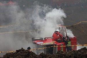 COC贵州晴隆站出现争议一幕 杨帅因恶意阻挡受伤退赛