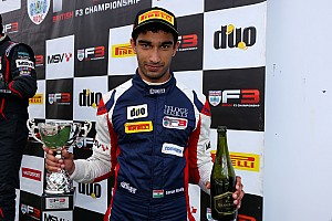 BF3 Breaking news Reddy expected higher, but pleased with British F3 performance