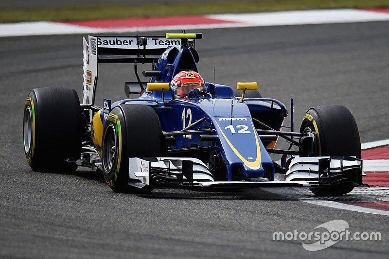 sauber completes programme as planned for the friday practice in russia. Black Bedroom Furniture Sets. Home Design Ideas