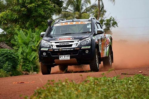 Takale/Sherif gets top 10 finish in Asian cross-country rally