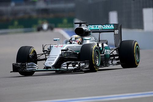 Hamilton and Rosberg go the distance on day one in Sochi