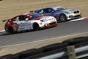 Donington BTCC: Sutton takes dramatic pole on a drying track