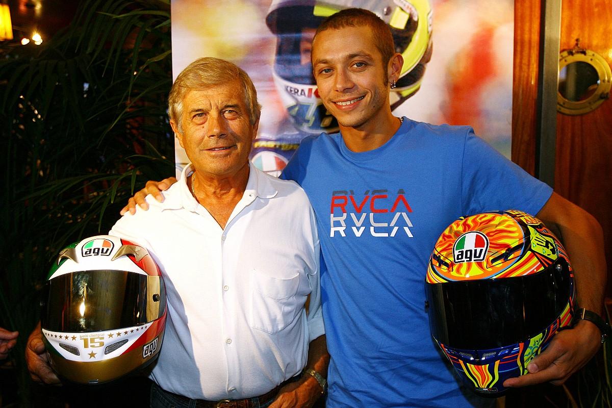 """Agostini: """"Os anos passam para todos, até para Valentino Rossi"""""""