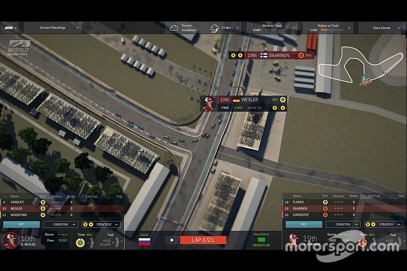 Motorsport Manager: el juego hecho por fans, para los fans a las carreras