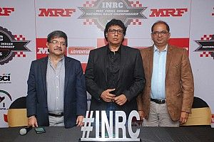 MRF returns to Indian rally scene