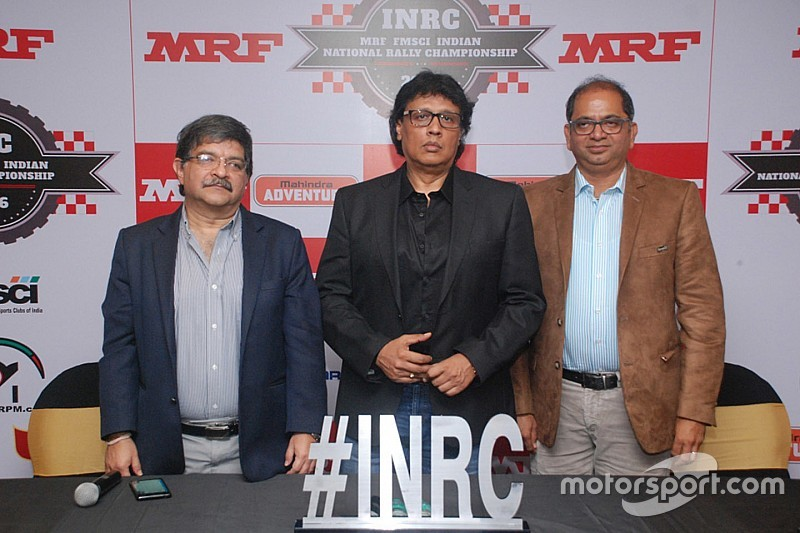 MRF returns to Indian rally scene