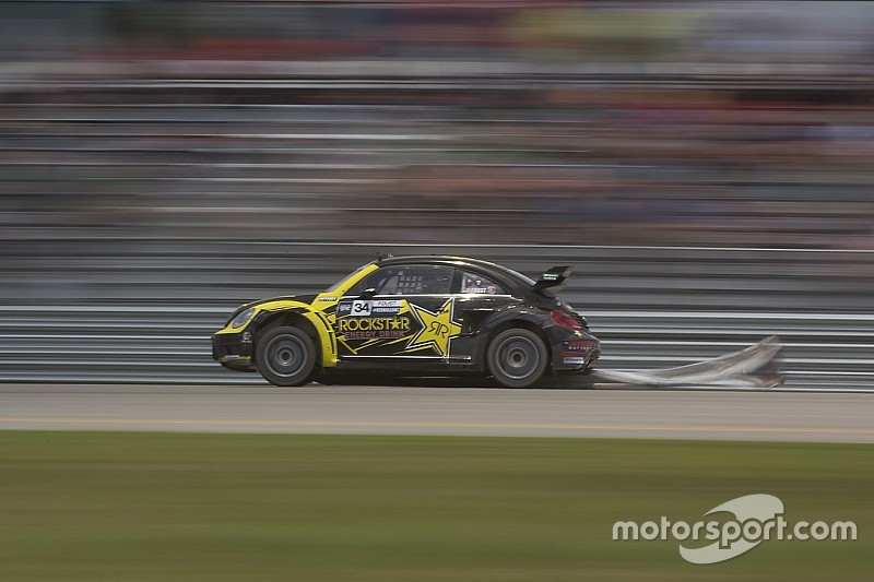 Foust wins manufacturer's duel at top of GRC Louisville qualifying