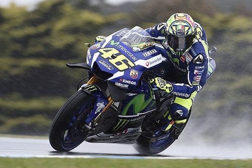 MotoGP: Rossi nem érezte a motort... 15. rajthely.