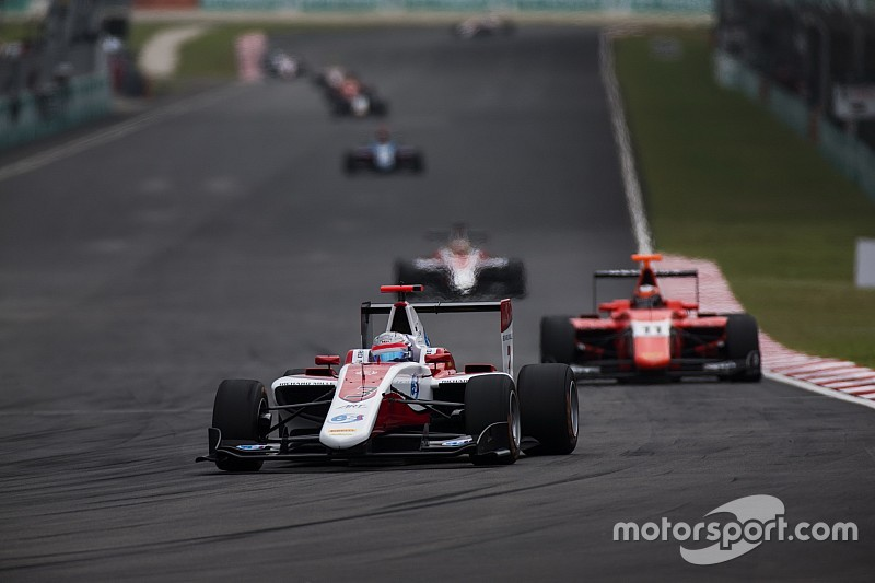DRS、2017年からGP3にも導入。レース活性化と、ドライバー育成が目的