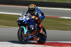Supersport-WM Donington: Sandro Cortese in Reihe eins