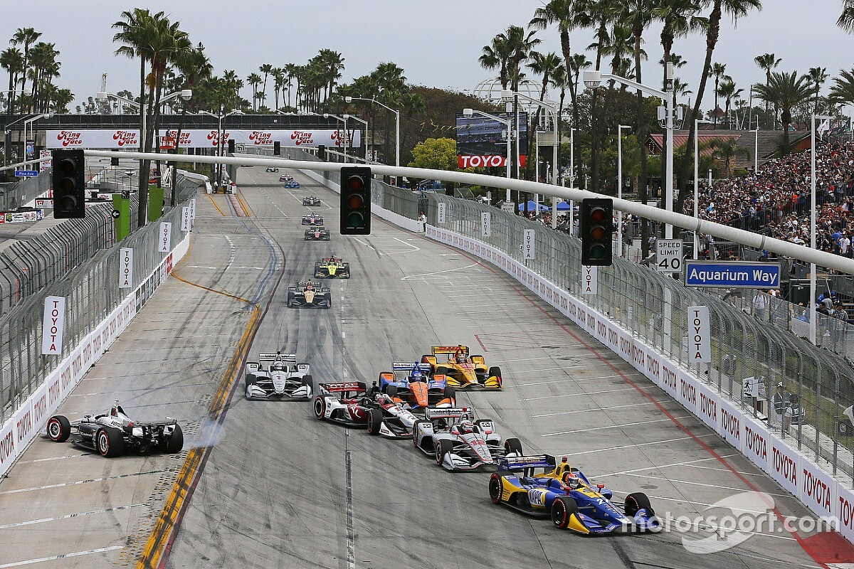 2019 IndyCar Acura Grand Prix of Long Beach full weekend schedule