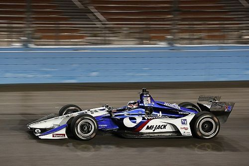 Rahal team dominates IndyCar night testing at Phoenix