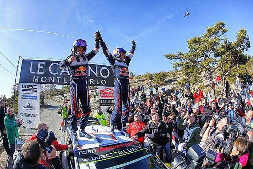 Monte Carlo WRC: Ogier wraps up fifth consecutive win