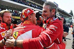 """Marchionne: """"Vettel is zijn emoties nu de baas"""""""
