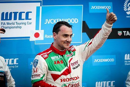 Michelisz nagyon boldog, a legjobb kocsiban ült Motegiben