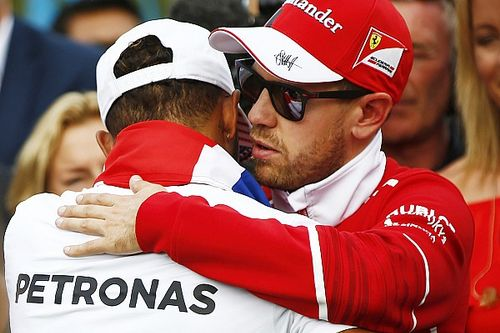 "Vettel says Hamilton was ""the better man and did the better job"""