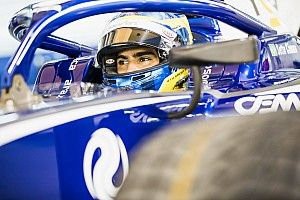 F2 Baku: Sette Camara puncaki latihan, Gelael ke-11