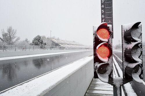 2018季前测试第三天因大雪推迟