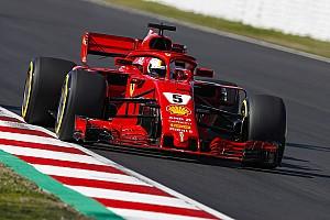 Formel 1 Reaktion Bestzeit am Dienstag: Sebastian Vettel ausdauernd und schnell