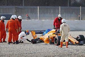 McLaren dédramatise sa matinée blanche à Barcelone