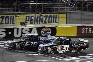 NASCAR Truck Breaking news Brett Moffitt on lapped trucks: