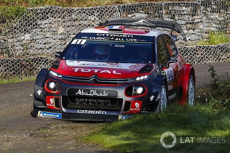 Loeb rijdt voor spek en bonen in Corsica na vroege crash