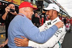 """Laudának kezdetben kételyei voltak Hamiltonnal kapcsolatban: """"Biztos a jó versenyzőt igazoltuk le?"""""""