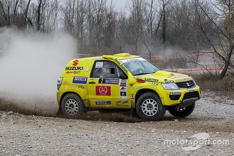 Podio tutto Suzuki al Baja Rally di Gallura. Trionfa Codecà!