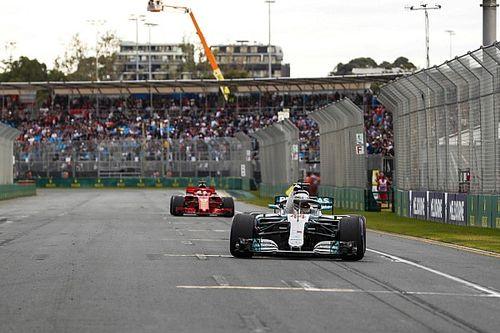 """Ricciardo : Mercedes a mis """"un coup de poing"""" à tout le monde"""