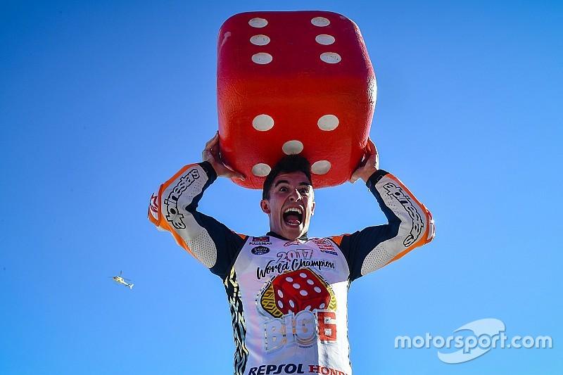 Gallery: Marquez celebrates fourth MotoGP title