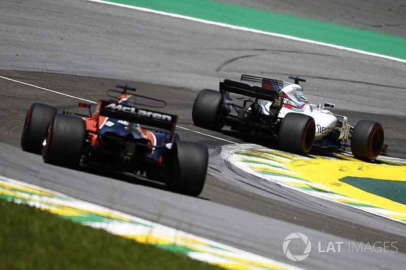 Williams félicite Force India et surveille McLaren de près