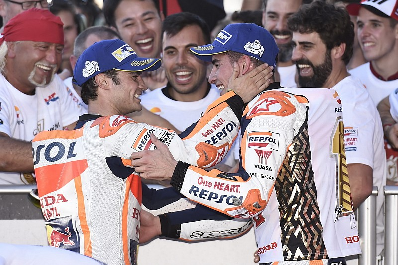 "Márquez: ""Estoy agradecido a Pedrosa porque me enseñó a pilotar la Honda"""