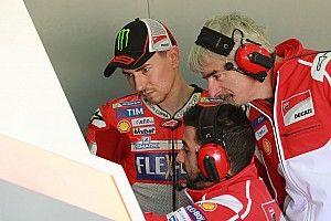 Lorenzo siente que aceleró el progreso de Ducati