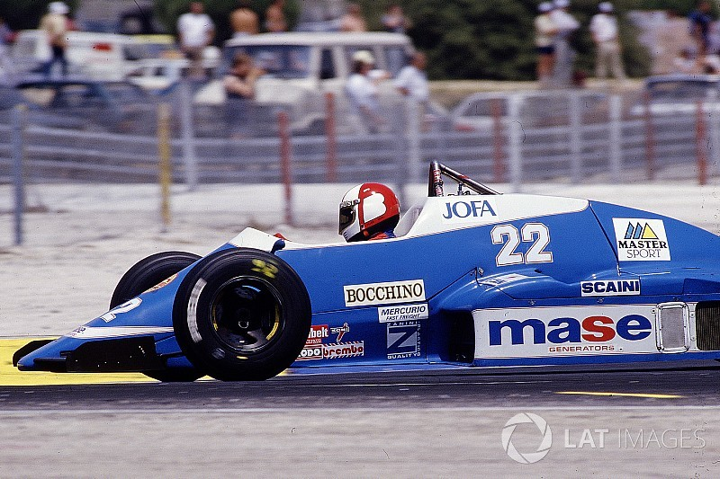 When Canadian Allen Berg drove for Osella in Formula 1