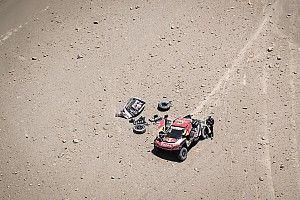 """Galería de la """"horrible"""" etapa 4 del Rally Dakar"""